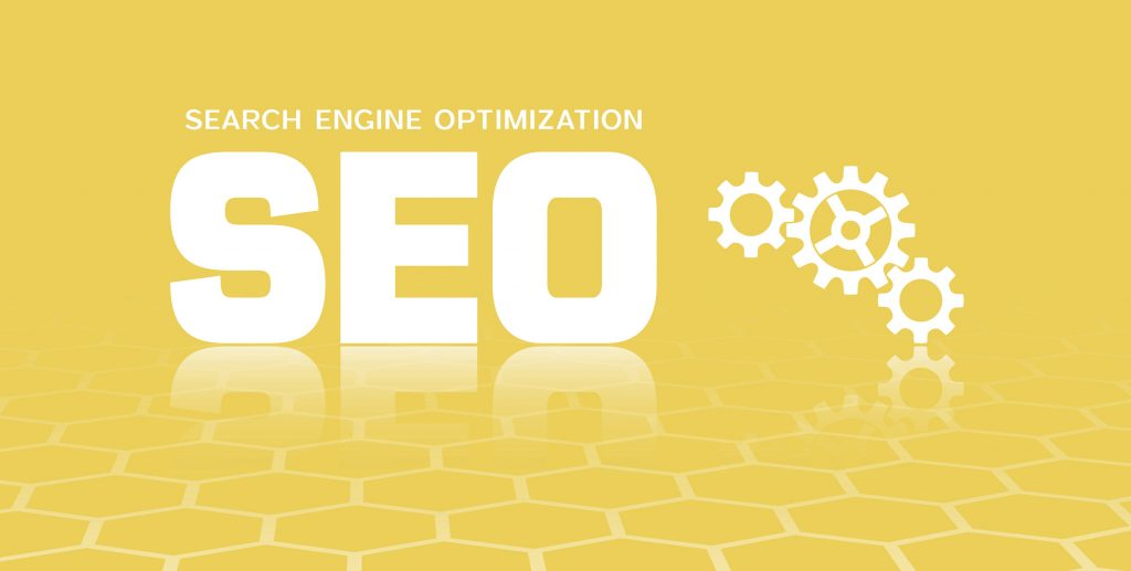Banner design with SEO icon. Vector illustration representing serious SEO mistakes to avoid