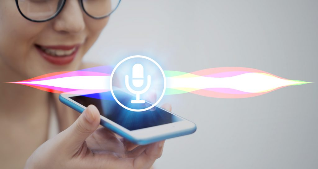Voice recognition features with smart phone.