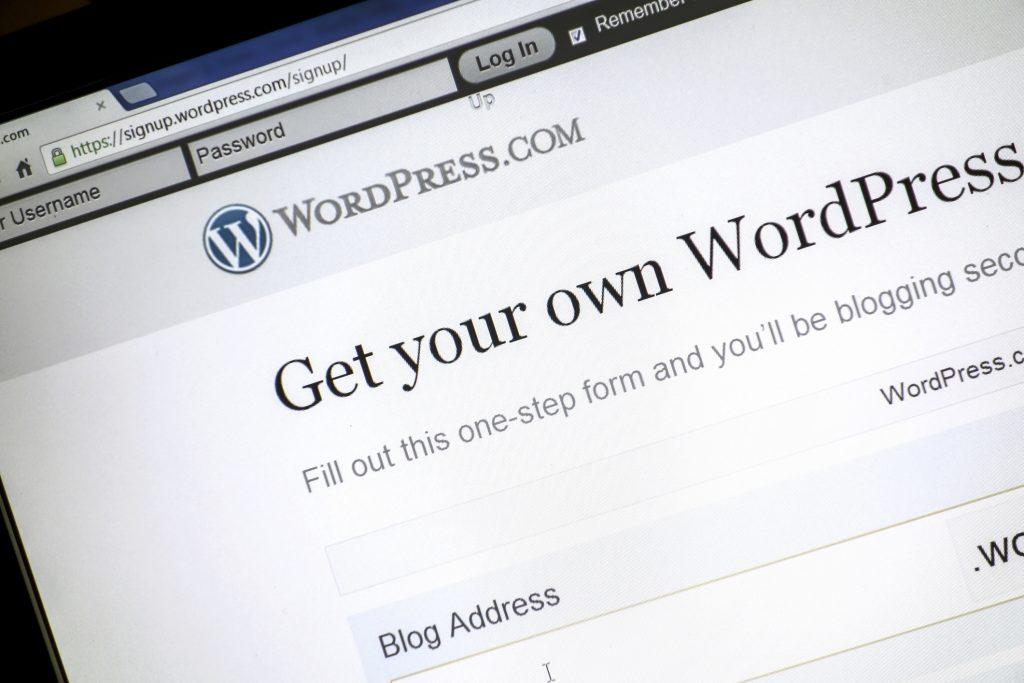 representing wordpress 5.6